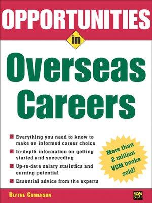 cover image of Opportunities in Overseas Careers