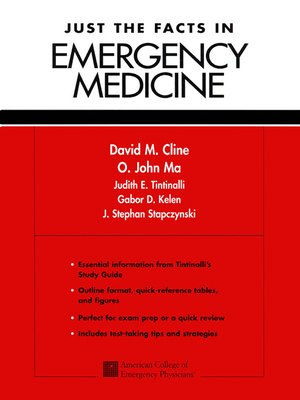 cover image of Just the Facts in Emergency Medicine