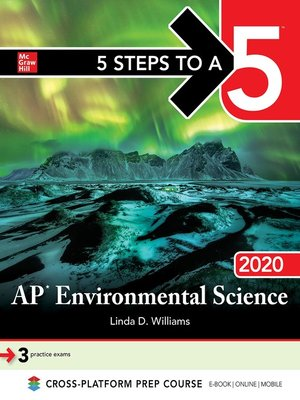 cover image of 5 Steps to a 5: AP Environmental Science 2020