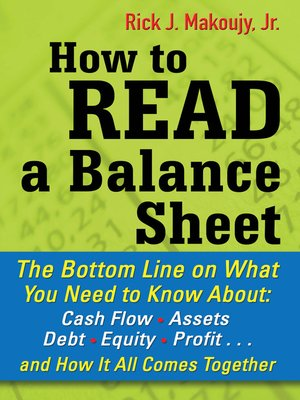 cover image of How to Read a Balance Sheet