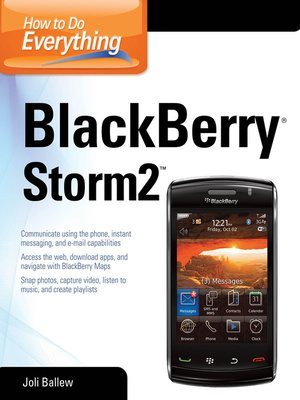 cover image of How to Do Everything BlackBerry Storm2