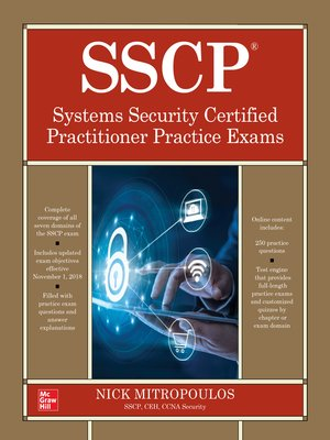 cover image of SSCP Systems Security Certified Practitioner Practice Exams