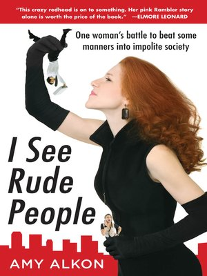 cover image of I See Rude People