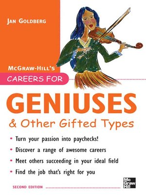 cover image of Careers for Geniuses & Other Gifted Types