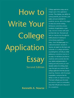 cover image of How to Write Your College Application Essay
