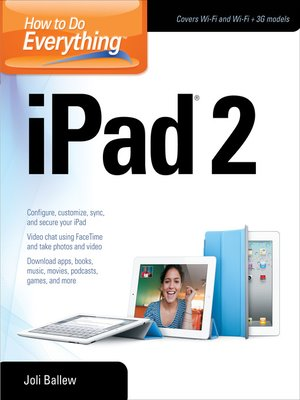 cover image of How to Do Everything iPad® 2