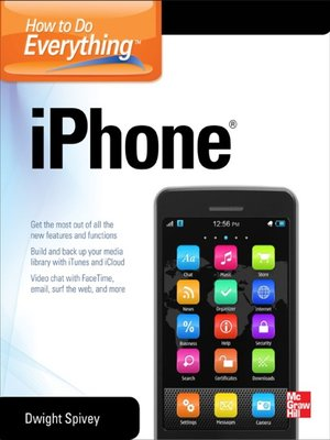 cover image of How to Do Everything iPhone 5