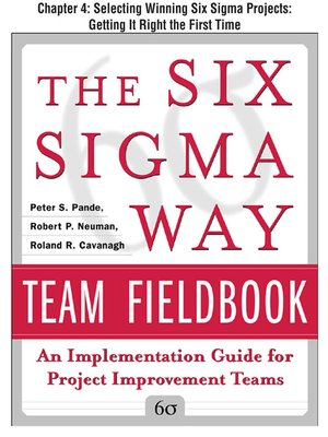 cover image of Selecting Winning Six Sigma Projects