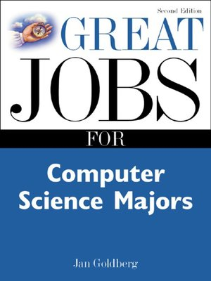cover image of Great Jobs for Computer Science Majors