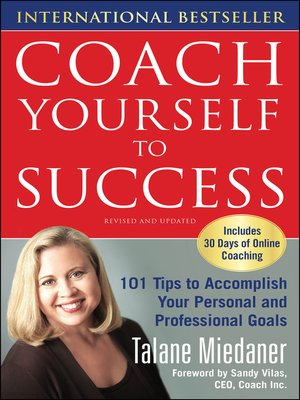 cover image of Coach Yourself to Success