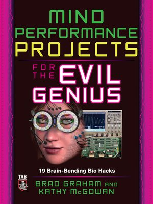 cover image of Mind Performance Projects for the Evil Genius