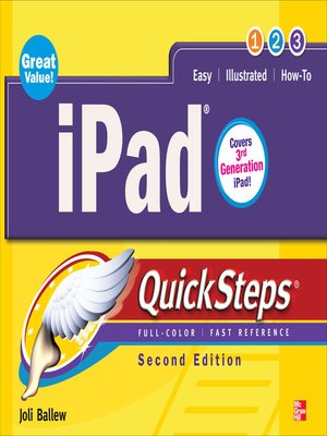 cover image of iPad QuickSteps