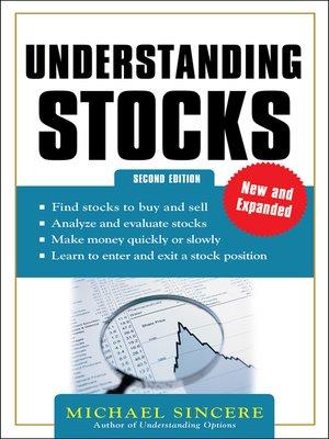 cover image of Understanding Stocks 2E