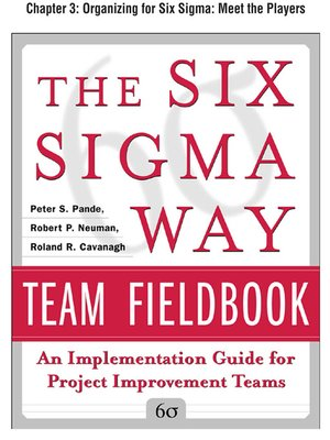 cover image of Organizing for Six Sigma