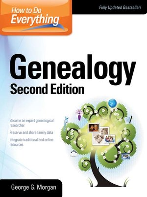 cover image of How to Do Everything Genealogy