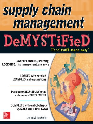 cover image of Supply Chain Management Demystified