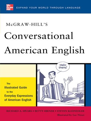 cover image of McGraw-Hill's Conversational American English