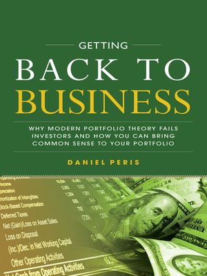 cover image of Getting Back to Business