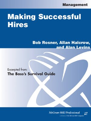 cover image of Making Successful Hires
