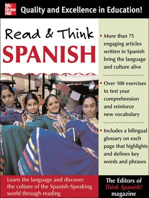 cover image of Read And Think Spanish (Book)