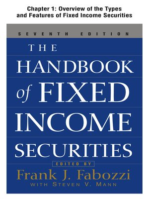 cover image of Overview of the Types and Features of Fixed Income Securities
