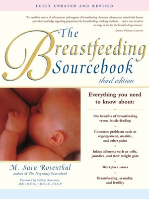 cover image of The Breastfeeding Sourcebook