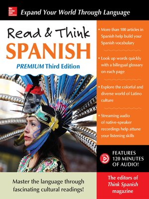 cover image of Read & Think Spanish, Premium