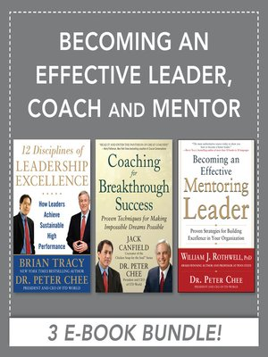 cover image of Becoming an Effective Leader, Coach and Mentor