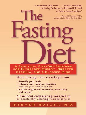 cover image of The Fasting Diet