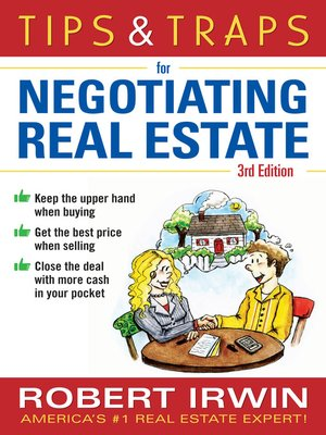 cover image of Tips & Traps for Negotiating Real Estate