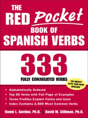 cover image of The Red Pocket Book of Spanish Verbs