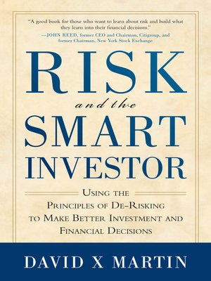 cover image of Risk and the Smart Investor