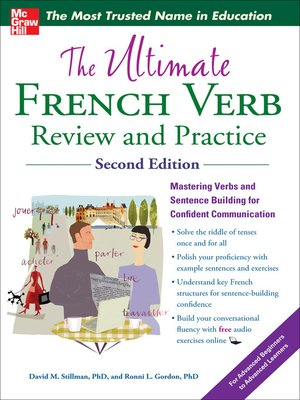 cover image of The Ultimate French Verb Review and Practice