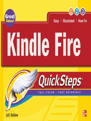 cover image of Kindle Fire QuickSteps