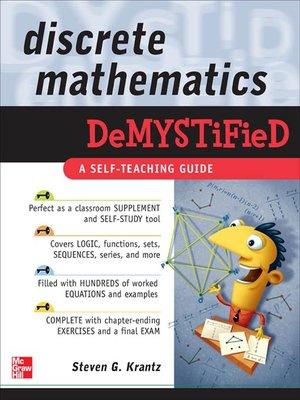 cover image of Discrete Mathematics Demystified