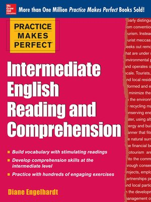 cover image of Practice Makes Perfect Intermediate English Reading and Comprehension