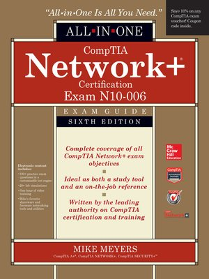 cover image of CompTIA Network+ All-In-One Exam Guide (Exam N10-006)