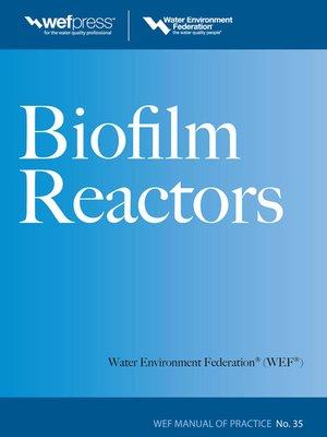 cover image of Biofilm Reactors WEF MOP 35