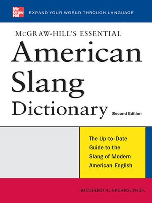 cover image of McGraw-Hill's Essential American Slang