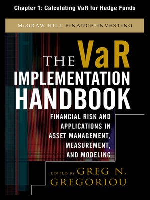 cover image of Calculating VAR for Hedge Funds