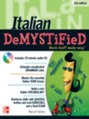 cover image of Italian DeMYSTiFieD