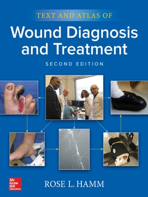 cover image of Text and Atlas of Wound Diagnosis and Treatment