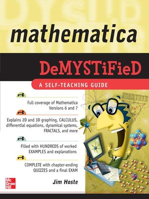 cover image of Mathematica Demystified