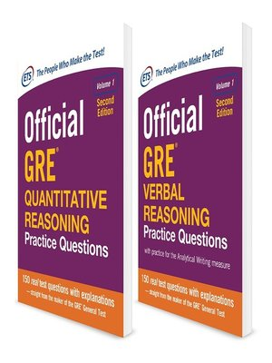 cover image of Official GRE Value Combo