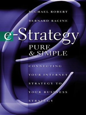 cover image of e-Strategy, Pure & Simple