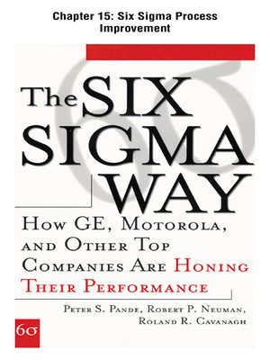 cover image of Six Sigma Process Improvement