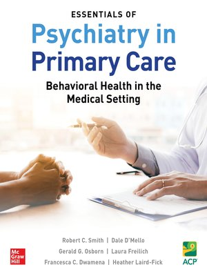 cover image of Essentials of Psychiatry in Primary Care