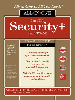 comptia security+ study guide sy0 501 pdf