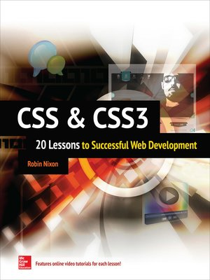 cover image of CSS & CSS3