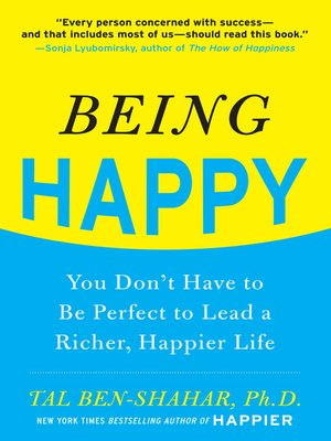 cover image of Being Happy